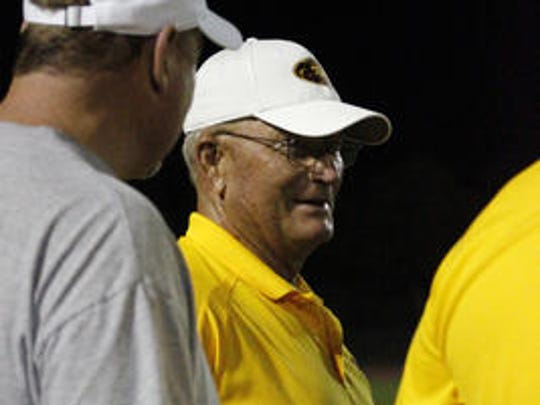Karl Kiefer was king of the football mountain for much of the '70s and '80s at tempe McClintock.