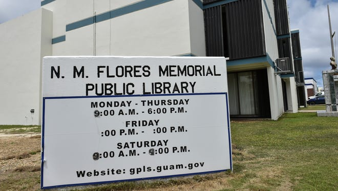 The rewly renovated N.M. Flores Memorial Public Library in Agana opens it's doors on March 3, after undergoing about six months of construction.  The new library has new furnishings, computer workstations, enclosed study rooms, a new children's library, with a cafe in the works, according to program coordinator Frank Aflague.