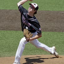 Junior pitcher Owen Olson was one of three first-team all-Big East Conference selections for New Holstein.