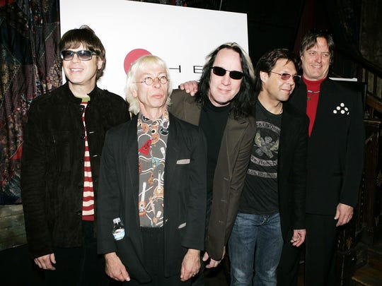 The Cars in 2006: Elliot Easton, left, Greg Hawkes,