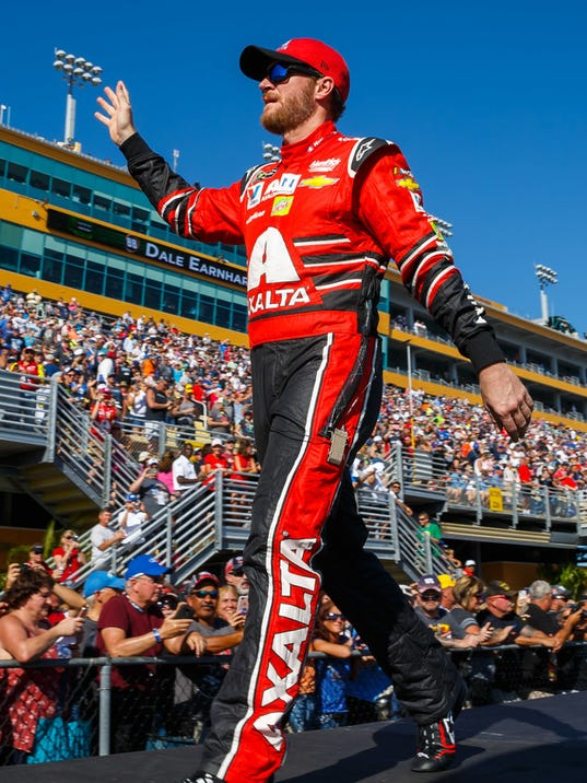 Dale Earnhardt Jr.'s last day