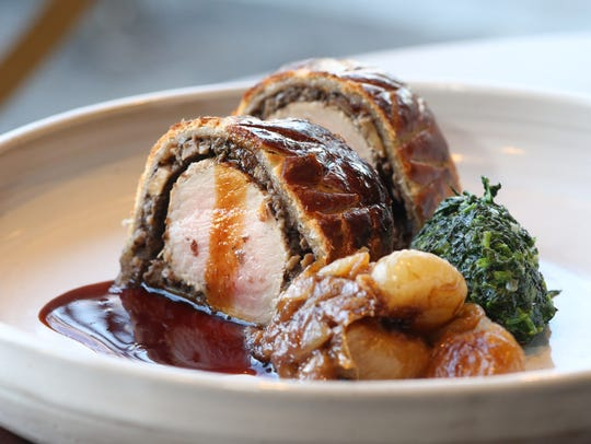 The Pork Tenderloin Wellington at Liberty Street Bistro