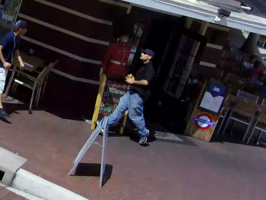Fort Myers police are seeking a suspect in the theft