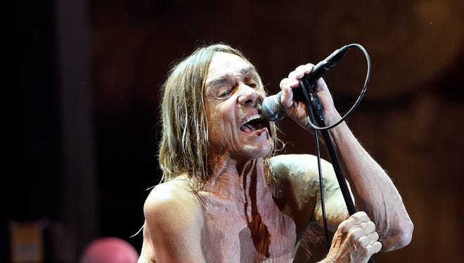 Iggy Pop performs Oct. 28 in Los Angeles.