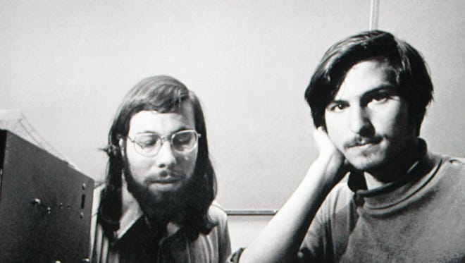 Steve Jobs and Steve Wozniak founded Apple 40 years ago.