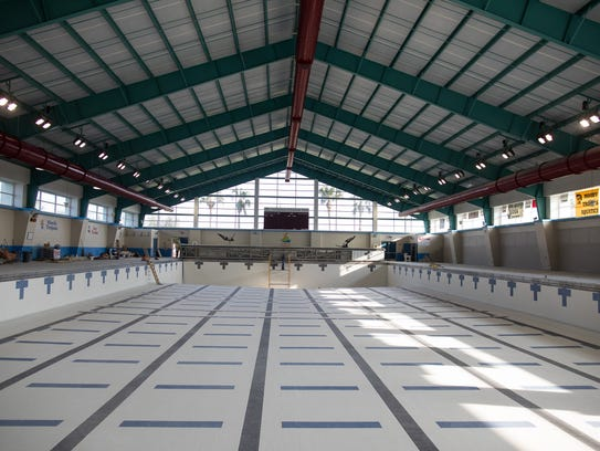 Corpus Christi Natatorium under construction on Tuesday,