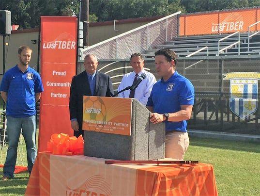 LUS Fiber Stadium dedicated