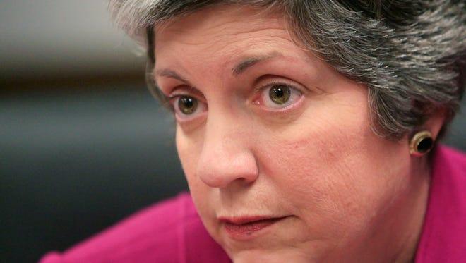 Former Arizona Gov. Janet Napolitano