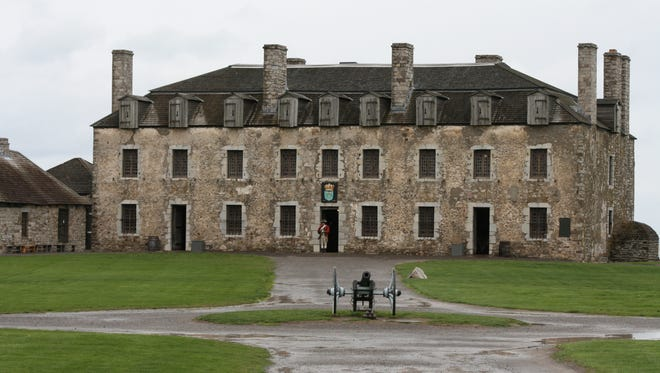 The 22-acre Old Fort Niagara State Historic Site overlooks the point where the Niagara River enters Lake Ontario.