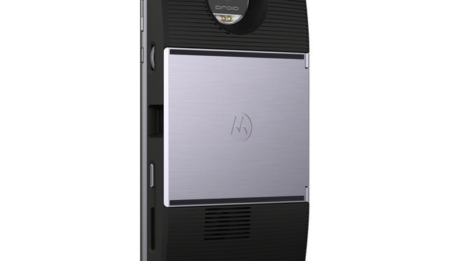 This Moto Mod adds a projector