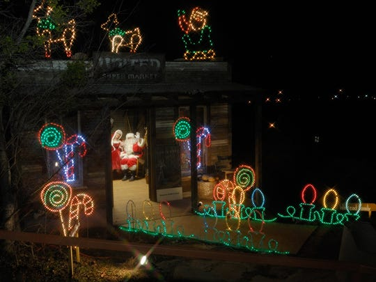 Santa Claus and Mrs. Claus will return to River Bend Nature Center's ElectriCritters, which opens Nov. 18.