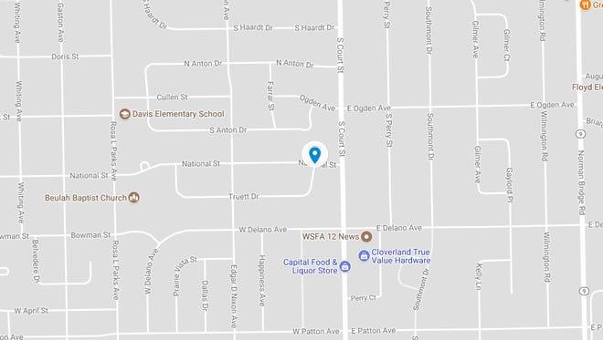 An unidentified man sustained a serious gunshot wound on Truett Drive Monday morning.
