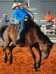 This year's Adams Ranch State Qualifying Genuine Ranch Rodeo March 31 at the St. Lucie County Fairgrounds will include bronco riding and wild cow decorating.