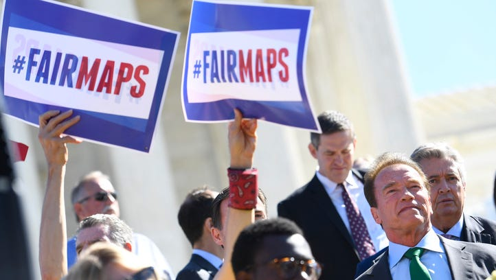 Opponents of gerrymandering including former Republican