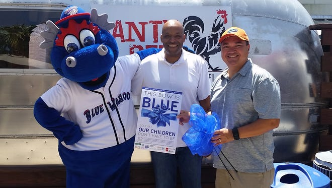 Banty Red's goes blue to help combat child abuse.