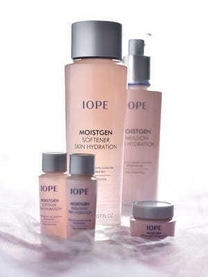 IOPE from Amore Pacific. Moistgen focuses on locking in moisture.