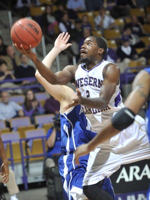 Western Carolina's Mike Brown paced the Cats with 23 points Thursday night.