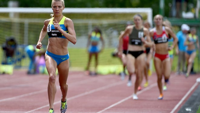 Katie Mackey, a former Fort Collins High School standout shown competing in a meet last summer in Washington, won a natinoal title in the mile run on the road Tuesday night in Des Moines, Iowa.