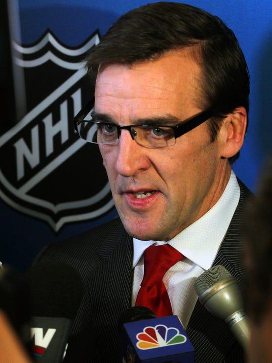 NHL: NHL Press Conference