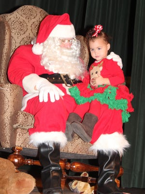 It's the 30th year of the popular Breakfast with Santa program.