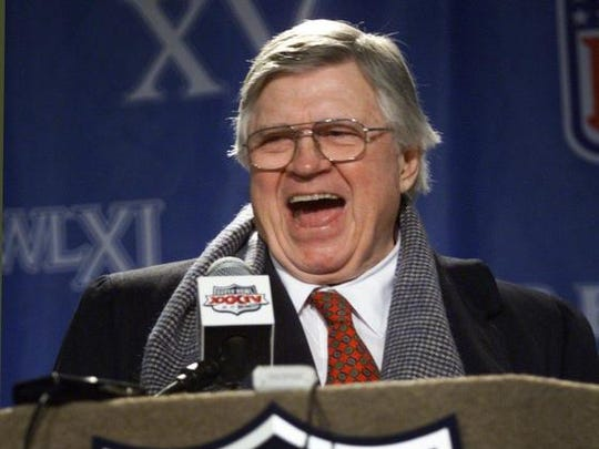 Tennessee Titans owner Bud Adams answers questions