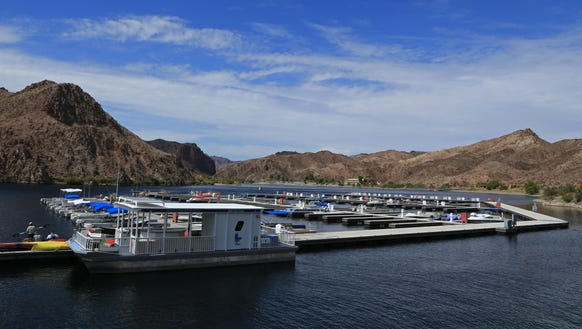 Willow Beach on Lake Mohave is part of the Arizona