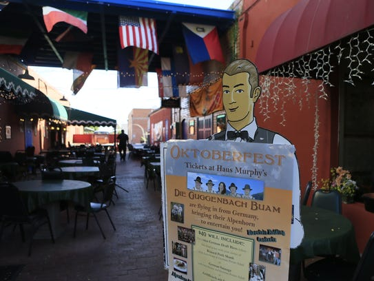 Haus Murphy's German Restaurant & Lounge in downtown