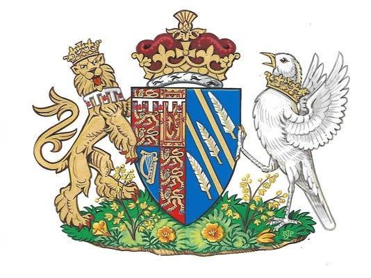 Britain Royals Coat of Arms
