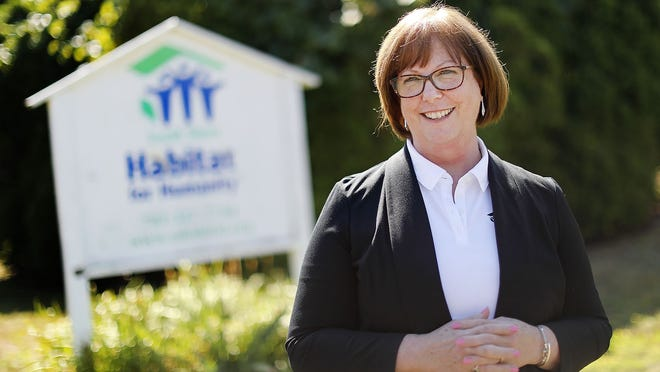 Beth Lyons is the new executive director of South Shore Habitat for Humanity. Greg Derr/The Patriot Ledger