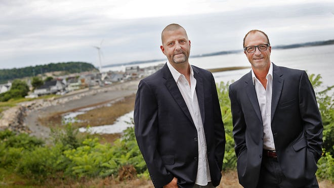 Sean Power and Jeff Shaheen, both of Hull, are hoping to open a medical marijuana facility in Hull.