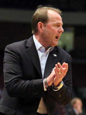 MTSU men's basketball coach Kermit Davis is entering his 14th season in 2015-16.