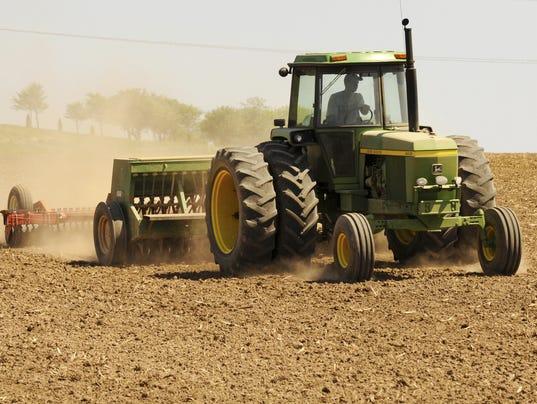 Farming farm tractor field Planting