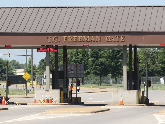 Fort Campbell's Gate 4 was renamed the T.C. Freeman