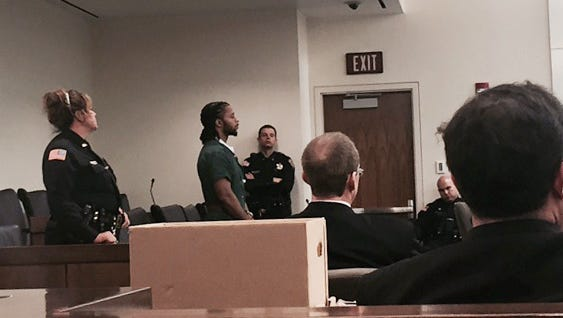 Dante Strong is sentenced for the aggravated manslaughter of Adrian Anderson.