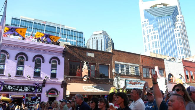 Travel + Leisure named Nashville one of the top 50 places to visit in 2017.