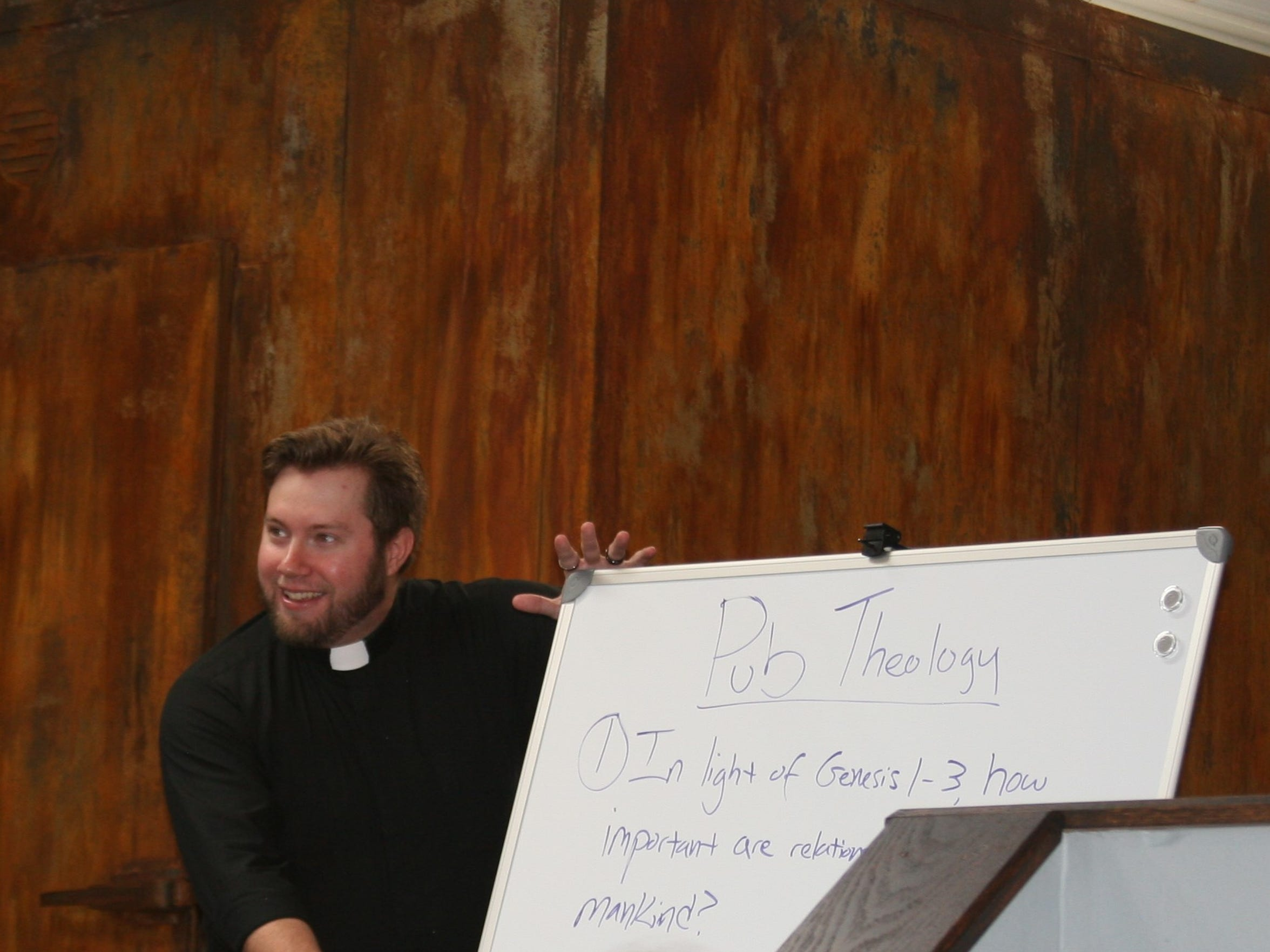 Redeemer Lutheran Church Associate Pastor Thomas Presley