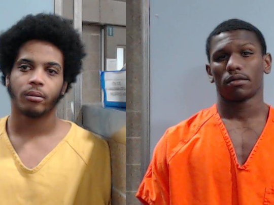 Marquis Thurman, left, and Adrian Dunn.