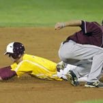The Salisbury University baseball team was eliminated from the Division III baseball championships on Saturday.