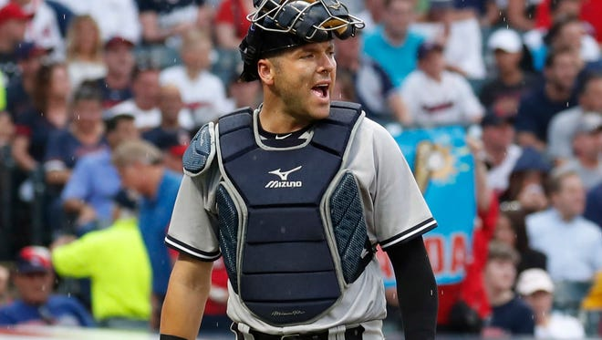 Gary Sanchez has 12 passed balls this season – more than any other catcher.