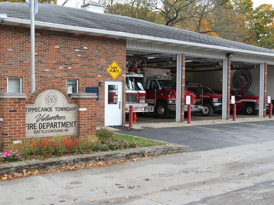 Tippecanoe Township Volunteer Fire Department in Battle Ground on Thursday, Oct. 27, 2016.