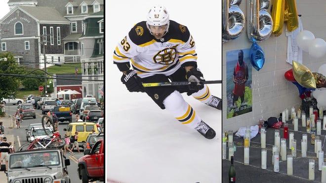 Block Island, Boston Bruins, Providence vigil.