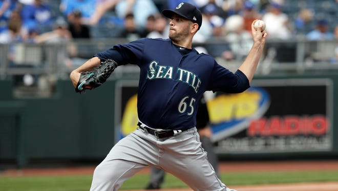 Mariners starter James Paxton allowed six hits and two runs in six innings of Seattle's 4-2 win over Kansas City on Wednesday.