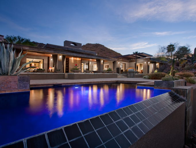 Paradise Valley: This 5,149-square-foot home has breathtaking