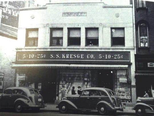 In December 1967, Kresge's in downtown Fremont was