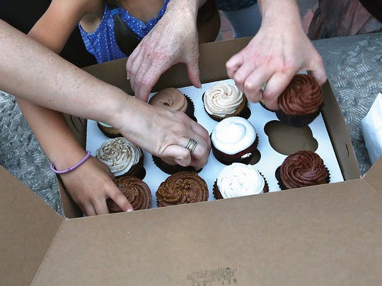 Cupcakes from Get Caked Bakery