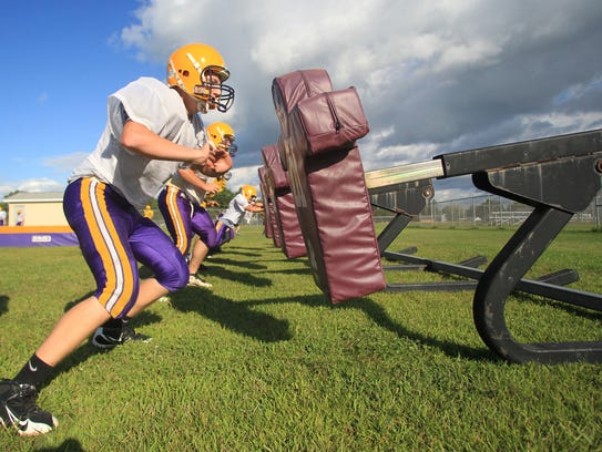 The Pittsville football team brings a 6-0 record into
