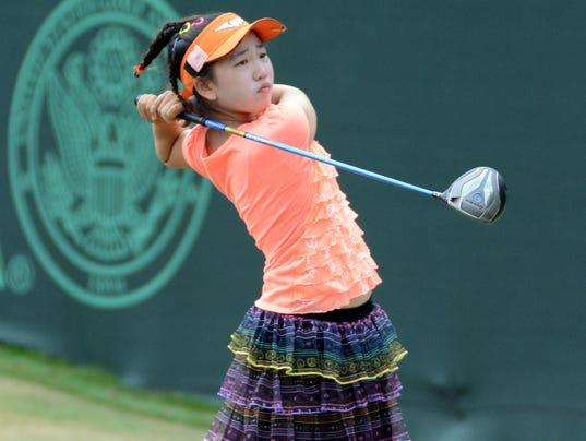 Japanese Teen Golfer 24