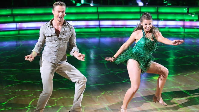 Derek Hough and Bindi Irwin on 'Dancing with the Stars.'