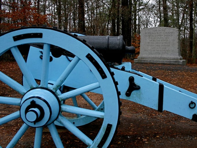 Horseshoe Bend National Military Park in Alabama is