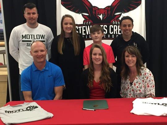 Stewarts Creek soccer standout Paige Loveless recently